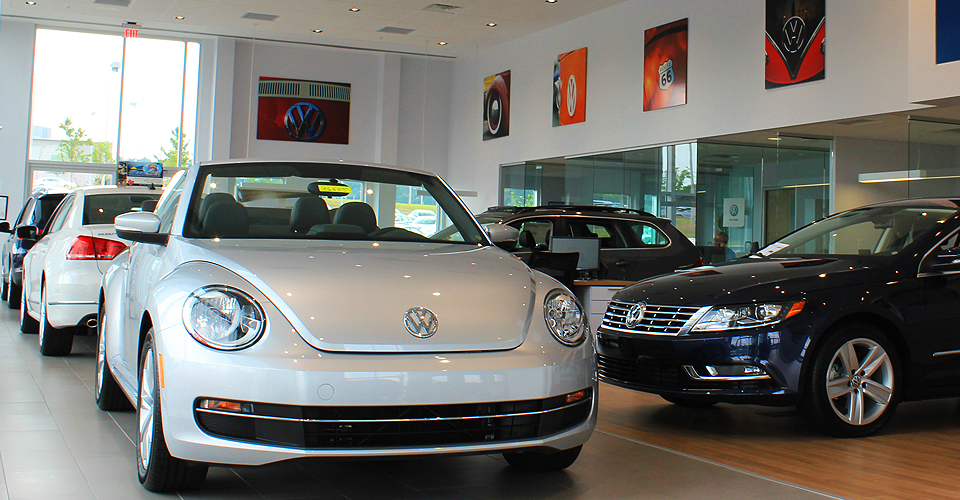 Leith Volkswagen of Raleigh Showroom